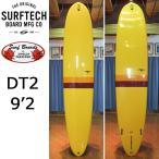 [送料無料]HPD ハワイアンプロデザイン Donald Takayama ドナルドタカヤマ ロングボード  DT2 9'2 YELLOW SURF TECH サーフテック サーフボード