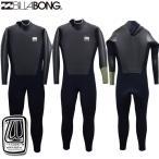 ウェットスーツ セミドライ 5x3mm メンズ Billabong ビラボン ウェットスーツ BACK ZIP スキン CARBON-X 裏起毛 AG018-627 2016