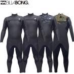 20-21 Billabong ビラボン セミドライ ウェットスーツ チェストジップ 5x3mm メンズ [BA018-621] CHEST ZIP スキン 裏起毛 NEW CARBON-X SUPER BLACK