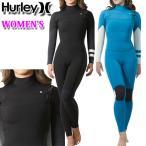 [在庫限り] 2020 Hurley ハーレー ウェットスーツ フルスーツ レディース 3mm [GZFLAD20] CHEST ZIP チェストジップ ADVANTAGE PLUS サーフィン ウエットスーツ