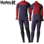2021 Hurley ウェットスーツ フルスーツ 3mm CHEST ZIP チェストジップ 子供用 [CV1722] BOYS ADVANTAGE PLUS アドバンテージ プラス サーフィン 春夏用