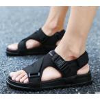 サンダル メンズ スポーツシューズ ビーチサンダル 通気 アウトドア 紳士用 夏 革サンダル 靴 母の日の画像