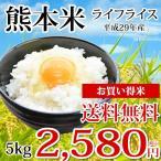 平成28年産 熊本県産ライフライス お買い得米 5kg 送料無料 米 新米 ヒノヒカリ コシヒカリ