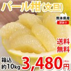 パール柑 10kg 文旦 みかん 送料無料 訳あり S〜2Lサイズ混合 熊本県産 グレープフルーツ 蜜柑 ミカン