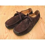 CLARKS NATALIEクラークス ナタリー BROWN SUEDE 20319011