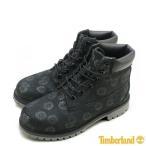 ショッピングTimberland ティンバーランド ジュニア 6インチ プレミアム ブーツ A177S ブラック/フローラル