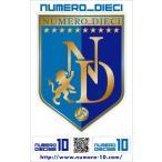 NUMERO_DIECI クラシックエンブレムステッカー【横浜FCカラー】