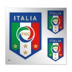 イタリア代表 シルバーステッカー3枚SET