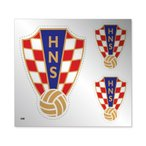 クロアチア代表 シルバーステッカー