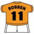 ロッベン(オランダ代表 11) ユニフォーム型ステッカー
