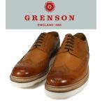 【送料無料】GRENSON  グレンソン GRENSON-ARCHIE-5067-235V ウィングチップ/カントリーシューズ 5067 タン 2V/ビブラムソール