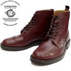 Locking Shoes ロッキングシューズ by FootMonkey フットモンキー カントリーブーツ WINGTIP 916 (ウィングチップブーツ) ワイン ウイングチップ ブーツ メンズ