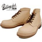 Rolling dub trio [ ローリングダブトリオ ] COUPEN 7 コッペン 7 タン 栃木レザー ヌメ革 ナチュラル メンズ レースアップ ハイカット ワークブーツ Boots