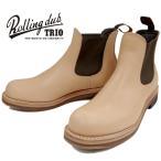 Rolling dub trio [ ローリングダブトリオ ] STAN スタン タン 栃木レザー ヌメ革 ナチュラル メンズ サイドゴア スリッポン ワークブーツ Boots