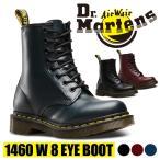 ブーツ ドクターマーチン Dr.Martens  レディース 1460 W 8 EYE BOOTS ミドル レザー 8ホール 並行輸入商品