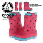 クロックス ガール クロックバンド Crocs Girls Crocband Airy Hearts Boots  14829 ラッピング不可