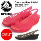クロックス Crocs Adrina III Mini Wedge 14937 アドリナ ミニ サンダル ウェッジサンダル パンプス風 ラッピング不可