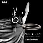 ショッピングキーリング free key フリーキー キーリング キーホルダー DDG スウェーデン