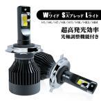 LED ヘッドライト H4 hi lo H1 H7 H11 H8 H16 HB3 HB4 6000K 12V コンパクトサイズ 高耐久 LED バルブ 光軸調整機能付き 2個セット 2年保証 送料無料 R8