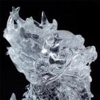 天然石 最高級 天然水晶手彫り麒麟一対彫刻置物箱付