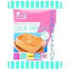 7年保存 レトルトパン/防災用品 〔ミルクブレッド 50袋入り〕 軽量 日本製 〔非常食 アウトドア 備蓄食材〕