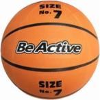 バスケットボール 7号 〔練習用 6個セット〕 重さ630g ゴム 〔スポーツ用品 運動用品 スポーツ器具〕