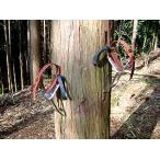 4本爪が木目をガッチリ捉え姿勢が安定