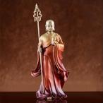 銅製仏像 仏教古美術 地蔵王菩薩 高温着色 鎮宅辟邪 文房置物 密宗密教 収蔵品 仏具