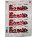 ジル ヴィルヌーヴ モナコ公国 限定 切手シート F1 monaco 記念切手 ビルヌーブ Gilles Villeneuve Ferrari フェラーリ