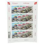 ロニー ピーターソン モナコ公国 限定 切手シート F1 monaco 記念切手 Lotus ロータス Ronnie Peterson