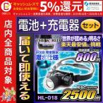 ヘッドライト LEDヘッドライト ヘッドランプ led 登山 防水 headlight HL-018 fl-sh018 【電池・充電器セット】