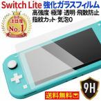 Nintendo Switch Lite ニンテンドースイッチライト 液晶保護 強化ガラスフィルム 任天堂 液晶画面保護 フィルム 液晶フィルム シート 硝子