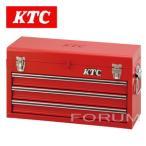 通常在庫品 ★ KTCチェスト(3段3引出し) 工具箱 SKX0213 (ソリッドレッド)★ ツールケース