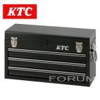 通常在庫品 ★ KTCチェスト(3段3引出し) 工具箱 SKX0213BK (ソリッドブラック)★ ツールケース