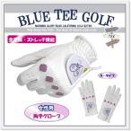 """ブルーティーゴルフ BLUE TEE GOLF 全天候型・ストレッチ機能 """"ゴルフグローブ """""""