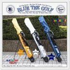 ☆BLUE TEE GOLF California セルフスタンドバッグ クラブケース(フード付き)
