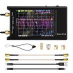 NanoVNA-H4ベクトルネットワークアナライザー4インチLCDタッチスクリーン10k-1.5GHz(1950mAhバッテリーアンテナアナ