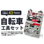 【送料無料】 自転車 工具セット 43pc 20種類 43パーツ プロ仕様 メンテナンス 【マウンテンバイク ロードバイク クロスバイク MTB 交換 補修 修理