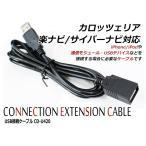 送料無料 USB接続ケーブル カロッツェリア 楽ナビ AVIC-RW300 対応 CD-U420互換 iPhoneやiPod 通信モジュール USBデバイス 接続 USBケーブル