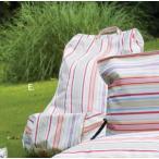 ローラアシュレイ ガーデン ガーデングクッション『ビーンウェッジ』