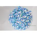 スパンコール 約320枚(約2.5g) 花カップ 5mm オーロラ 水色 (SFC05AWTSA00)