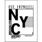 【NYC・ロゴ・ブルックリン・ニューヨーク】ポストカード