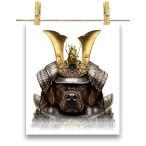 【茶毛 ラブラドルレトリバー ドッグ 犬 いぬ 将軍 日本 JAPAN】ポストカード by Fox Republic