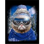 【メリー クリスマス セーター トナカイ】ポストカード by Fox Republic