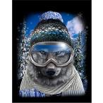 【メリー クリスマス セーター トナカイ ハート】ポストカード by Fox Republic