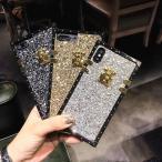 iPhone X iPhone8 iPhone7 iPhoneXR iphoneXs Max ケース ソフトケース シリコン アイフォン 7 Plus 可愛い おしゃれカバー キラキラ ラメ