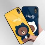 iPhone8 Plus ケース カバー iphoneXiphone7 iphone6sスマホケース カバー 熊光沢アイフォン ハードケース 携帯ケース Apple アップル