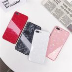 iPhone8 Plus ケースiPhone XRケース カバーiPhoneXs Maxケース iphoneX iphone7 iphone6sスマホケース カバーアイフォン ガラスハードケース 携帯ケース シエル