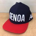 ジェノア GENOA サッカー 公式グッズ ベースボールキャップ カッパ Kappa