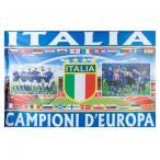 """「イタリア代表 ユーロ2020 優勝記念フラッグ """"Campioni d'Europa"""" アズーリ」の画像"""